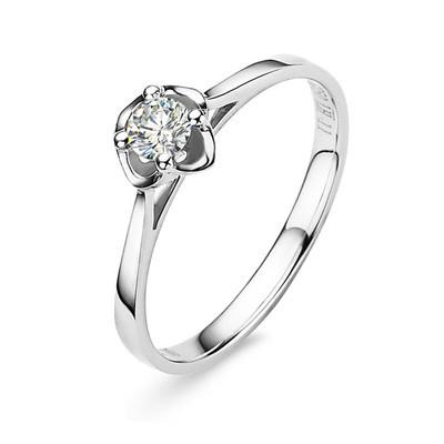 18k彩金戒指多少钱_18k白金钻石戒指图片?——BLOVE婚戒定制中心